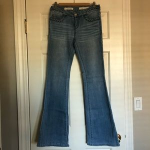 Pilcro and the Letterpress Flare Jeans - Size 26